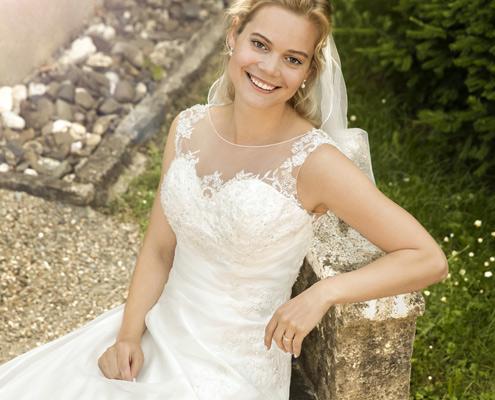 Klassisches Brautkleid